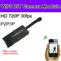 WI-FI камера-модуль с внешним источником питания