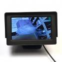 портативный TFT монитор на 4,3 дюйма для подключения видеокамер и устройств передачи видео