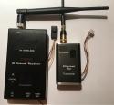 Малогабаритный цифровой комплект на 0.9-1.2Ггц передатчик/приемник/микрокамера беспроводной передачи онлайн видео (Anti interference)